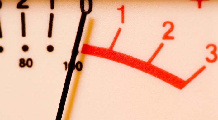 Analog Mastering VU Meter
